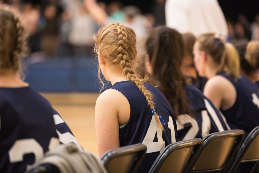 sideline girls basketball